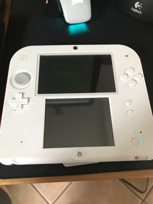 Nintendo 2Ds Red/White 3 games included for Sale in San Diego, CA