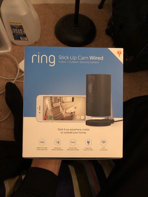 Ring Security Camera (Plug in powered model) for Sale in Alexandria, VA