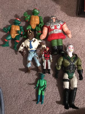 80s and 90s action figure lot for Sale in Delaware, OH