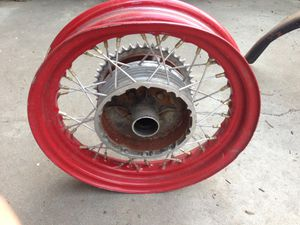 BSA triumph English motorcycle wheels for Sale in Paramount, CA