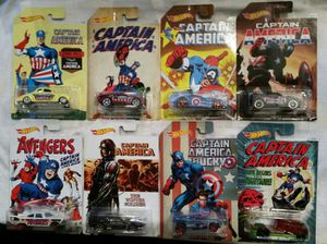 Captain America Civil war Hot Wheels for Sale in Spring, TX