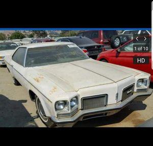 1972 oldsmobile Delta 88 for Sale in San Leandro, CA