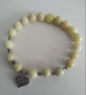 Lemon Jasper Gemstone Bracelet for Sale in Baltimore, MD