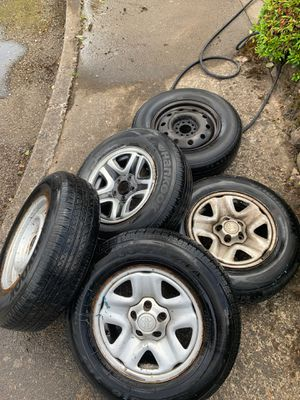 Toyota Tacoma rims and tires for Sale in Saint Benedict, OR