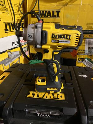 DEWALT 20-Volt MAX XR Brushless Cordless 1/2 in. Impact Wrench with Detent Pin Anvil (Tool only ) for Sale in Bakersfield, CA