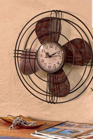 Antique Fan Wall Clock for Sale in Bowie, MD