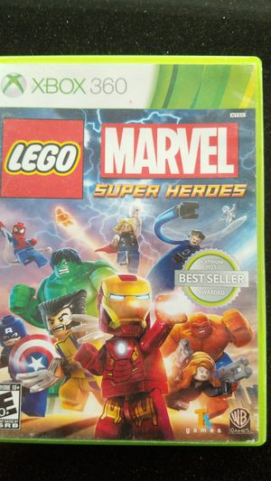 Lego Super Heroes xbox 360 for Sale in Cutler Bay, FL