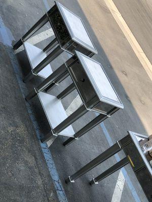 2 nightstands. Nice heavy duty for Sale in Visalia, CA