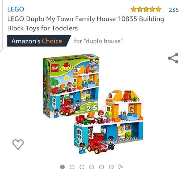 Toddler lego