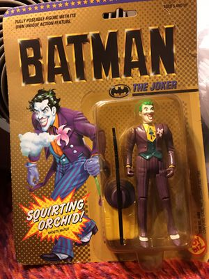 1989 The Joker Fully Posable Figure from Toy Biz NEW in box for Sale in Queens, NY