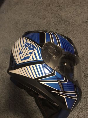 Motorcycle helmet almost new just wore 5 times for Sale in Brooklyn Park, MD