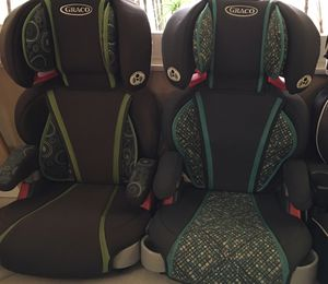 Two Graco booster seats for Sale in Palm Beach Gardens, FL