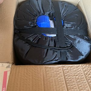 Goplus Double 2 Person Sleeping Bag Waterproof w/ 2 Pillows Camping Blue for Sale in San Bernardino, CA