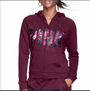 Victoria's Secret Pink Hoodie Full Zipper Small for Sale in North Olmsted, OH