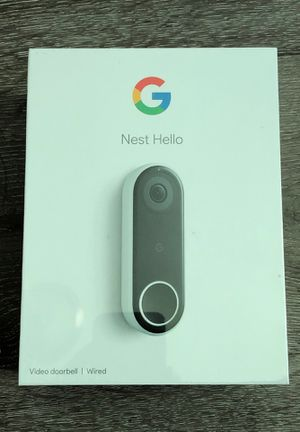 Google Nest Hello Camera 🔴 Brand New - Box is Sealed 🔴 for Sale in Hollywood, FL