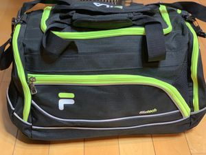 Black and neon films duffel bag for Sale in Fort Washington, MD