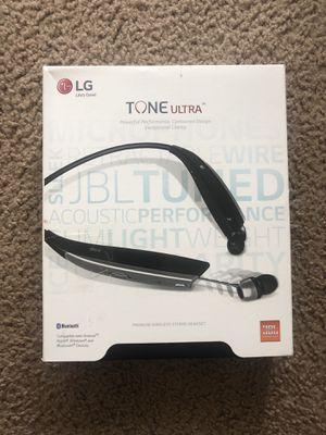 LG Tone Ultra HBS-820 Bluetooth wireless headset for Sale in San Antonio, TX