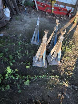 Custom made jacks to go under slides on a camper for Sale in Sandston, VA
