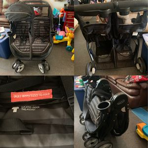 Graco fast action click connect double stroller for Sale in Mansfield, TX