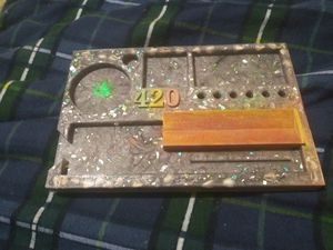 Rolling tray/jewelry tray and box for Sale in Raleigh, NC