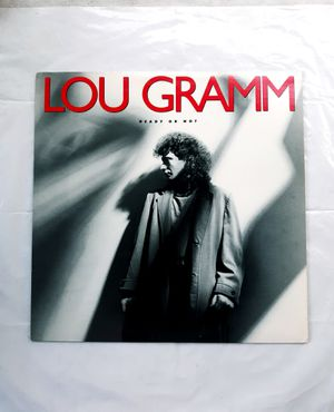Lou Gramm solo record 80's Rock album for Sale in Tacoma, WA