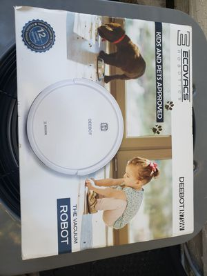 Ecovacs Robotics Deebot N79W Robot Vacuum for Sale in Pompano Beach, FL