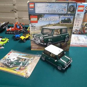 Lego 10242 mini Cooper complete with everything for Sale in Lakewood, CO