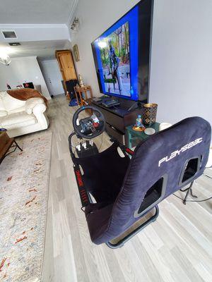 PS4 + Racing Sim Bundle for Sale in Fort Lauderdale, FL