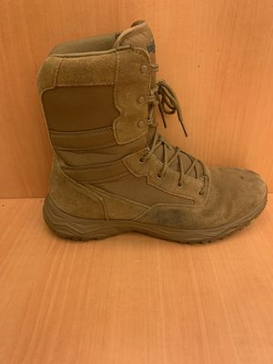 Interceptor Mens Tan Leather Tactical Work Casual Boots Size 11 for Sale in Pelham, NH