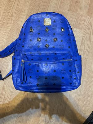 MCM Stark Backpack Blue for Sale in Red Oak, TX
