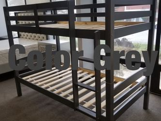 Twin bunk beds. 3 colors to choose from. Bunk beds come in a box. Assembly not included in price. Price includes tax and delivery. Cash only. Colo for Sale in Long Beach,  CA