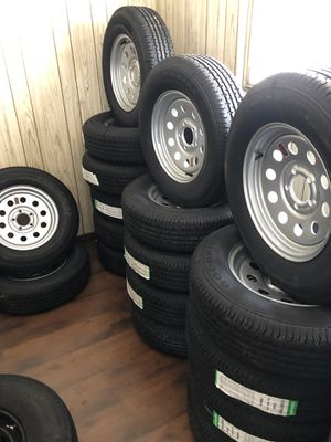 Trailer tires 205/75/R15 for Sale in Tampa, FL