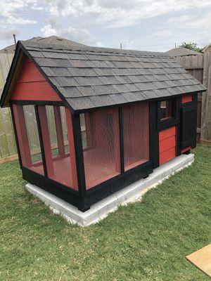 Custom dog 🐕 house 🏡 4ft x8ft for Sale in Houston, TX