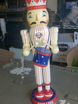 Phillies Nutcracker for Sale in Hanover,  PA