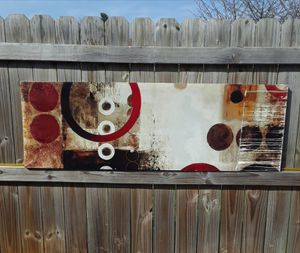 "60""×20"" Abstract Art On Canvas for Sale in Ephrata, PA"