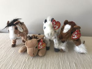 Horses Ty Beanie Babies for Sale in Norfolk, VA