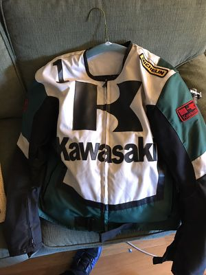 Kawasaki motorcycle riding jacket! Medium for Sale in San Diego, CA