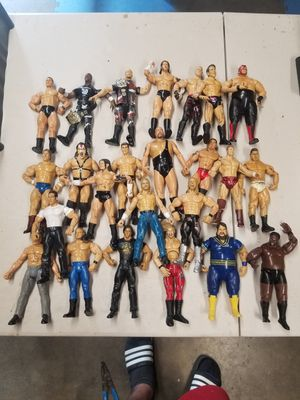 24 Used WWE toys for Sale in Fresno, CA