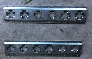 "E track horizontal and vertical trailer rail line 24"" each tie-down for Sale in Hesperia, CA"