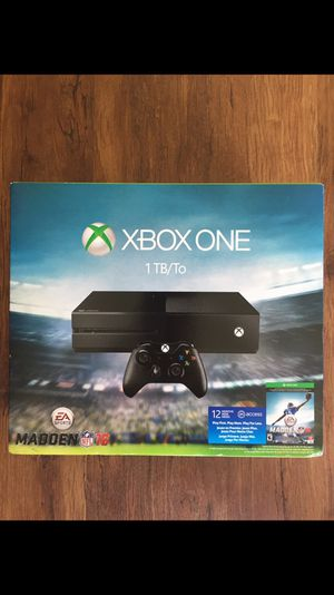 1TB Xbox One and two games for Sale in Lawndale, CA