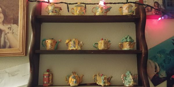 Collectible Precious Moments tea pots