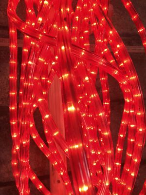 Red Rope Christmas Lights - 18 ft sections. 8 available for Sale in New Holland, PA