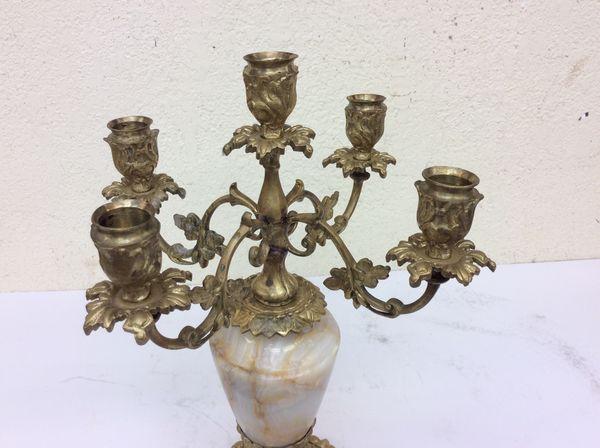 Antique bronze Candelabra