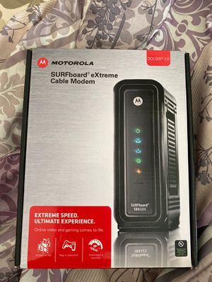 Motorola SURFboard eXtreme SB6121 Cable modem for Sale in Plano, TX