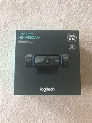 Logitech C920 Pro HD Webcam BRAND NEW for Sale in Oxford, MI