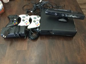 XBOX 360 - 16 Games included - 3 Controllers - Kinect Camera for Sale in Boulder City, NV