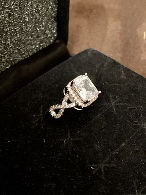 New Engagement Wedding Ring Sterling Silver Stamped .925 for Sale in Mission, TX