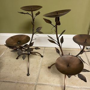 Metal Candle Holder for Sale in Shrewsbury, MA