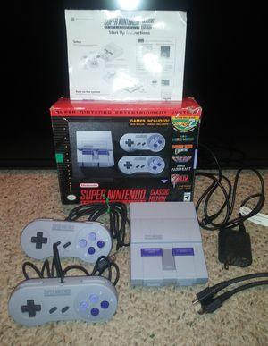 Super Nintendo SNES Classic Authentic in Box for Sale in Pulaski, TN