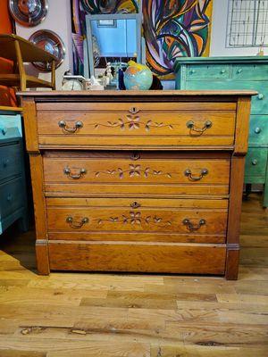Antique Spoon Carved Dresser for Sale in Denver, CO
